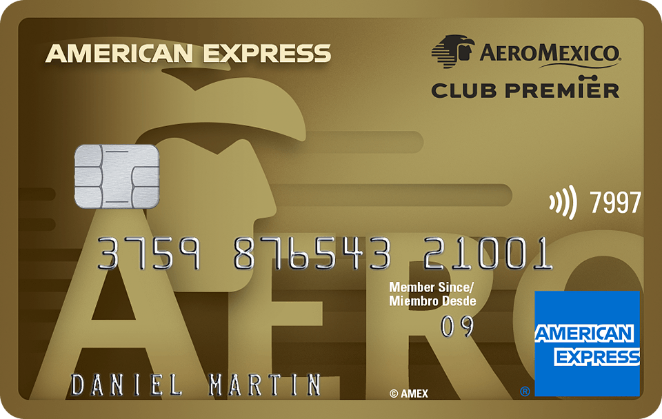 The Gold Card American Express Aeromexico